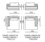 Модульный диван Taylor Dual IPE Cavalli (Visionnaire)