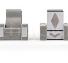 Итальянские кресла для домашнего кинотеатра - Кресло LUXOR фабрика Vismara Design