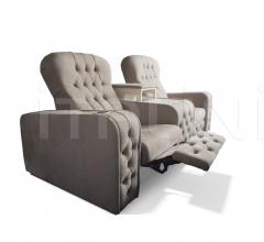 Итальянские кресла для домашнего кинотеатра - Кресло CHEST фабрика Vismara Design