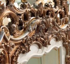 Зеркало с камином T119+T121 фабрика Zanaboni
