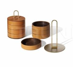 Итальянские аксессуары для интерьера - Ящик для хранения Gli Oggetti Zhuang фабрика Poltrona Frau