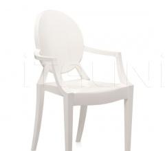 Итальянские уличные стулья - Стул с подлокотником Louis Ghost фабрика Kartell