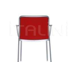 Итальянские стулья, табуреты - Стул с подлокотниками Audrey Soft фабрика Kartell