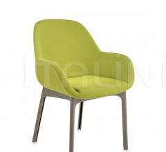 Итальянские стулья, табуреты - Стул с подлокотниками CLAP фабрика Kartell