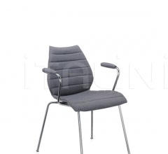 Итальянские стулья, табуреты - Стул с подлокотниками Maui Soft фабрика Kartell