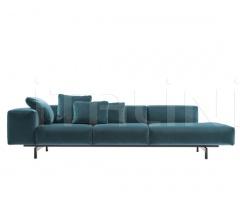 Модульный диван Largo Velvet фабрика Kartell