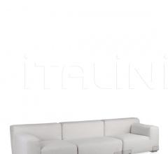 Модульный диван Plastics Duo фабрика Kartell