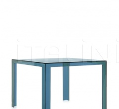 Итальянские уличная мебель - Стол обеденный Invisible table фабрика Kartell