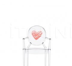 Итальянские стулья, кресла - Кресло Lou Lou Ghost Special Edition фабрика Kartell