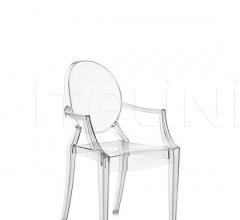 Кресло Lou Lou Ghost фабрика Kartell
