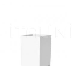 Итальянские ванная - Емкость для зубной щетки Boxy фабрика Kartell