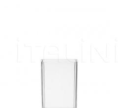 Итальянские аксессуары для ванной - Емкость для зубной щетки Boxy фабрика Kartell