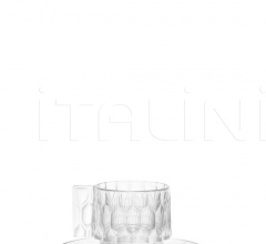 Итальянские кухонная посуда - Кофейный сервиз Jellies Family фабрика Kartell