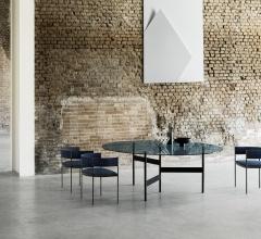 Итальянские уличные столы - Стол обеденный Notes фабрика Living Divani