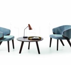 Кресло Nora Lounge 1531 фабрика Bross Italia