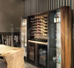 Итальянские винные шкафы, комнаты - Винный шкаф IKAT 991 фабрика Bizzotto
