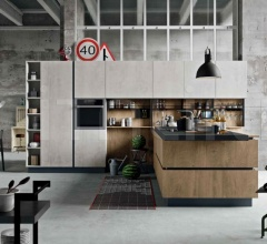 Кухня Industrial Kitchen 06 фабрика Astra