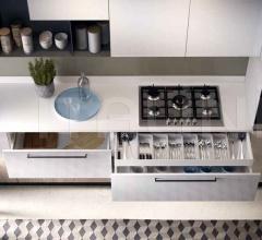 Кухня Living Life Flat фабрика Concreta Cucine