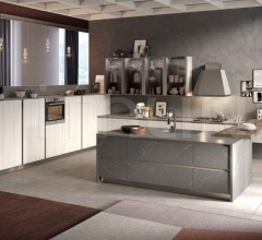 Кухня Living Life Back фабрика Concreta Cucine