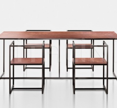 Стол обеденный RIVIERA фабрика De Castelli