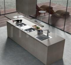 Итальянские кухни с островом - Кухня G30 03 фабрика Arredamenti TreO