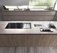 Итальянские кухни с островом - Кухня R20 06 фабрика Arredamenti TreO