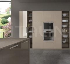Итальянские кухни с островом - Кухня R20 07 фабрика Arredamenti TreO