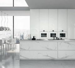 Итальянские кухни с островом - Кухня B22 02 фабрика Arredamenti TreO