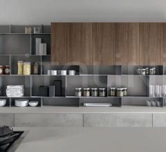 Итальянские кухни с островом - Кухня B22 03 фабрика Arredamenti TreO