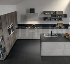 Итальянские кухни с островом - Кухня B22 04 фабрика Arredamenti TreO