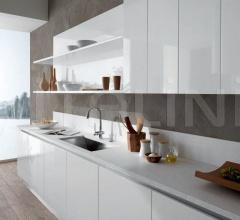 Итальянские кухни с островом - Кухня Elos 01 фабрика Arredamenti TreO