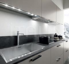Итальянские кухни с островом - Кухня Elos 03 фабрика Arredamenti TreO