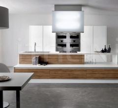 Итальянские кухни с островом - Кухня Mito 02 фабрика Arredamenti TreO
