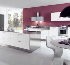 Итальянские кухни с островом - Кухня Kite 01 фабрика Arredamenti TreO