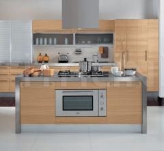 Итальянские кухни с островом - Кухня Asia 01 фабрика Arredamenti TreO