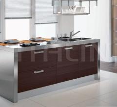 Итальянские кухни с островом - Кухня Asia 02 фабрика Arredamenti TreO