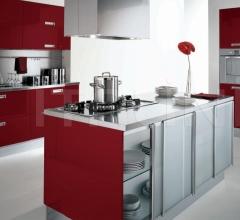 Итальянские кухни с островом - Кухня Asia 03 фабрика Arredamenti TreO