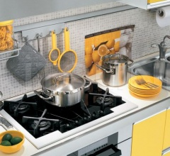 Кухня Aurora 05 фабрика Arredamenti TreO