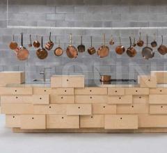 Кухня Drawer Kitchen фабрика Schiffini