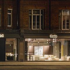 Новый магазин Molteni & C и Dada в Лондоне - Итальянская мебель