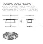 Кофейный столик tomo Desiree