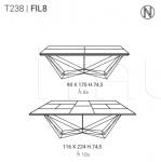 Раздвижной стол FIL8 Ozzio