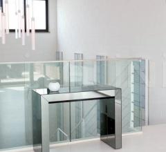 Стол-консоль трансформер GLASS фабрика Ozzio