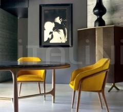 Стол обеденный ELISEE ROUND фабрика Ulivi Salotti
