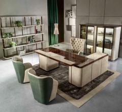 Письменный стол BRUCE SECTIONAL фабрика Ulivi Salotti