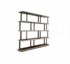 Книжный стеллаж ADAM фабрика Ulivi Salotti