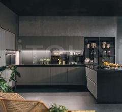 Итальянские угловые кухни - Кухня Kali 6 фабрика Arredo3 srl