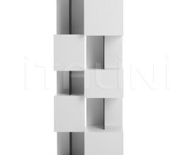 Книжный стеллаж Qubit фабрика Mdf Italia