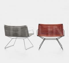 Кресло NEIL TWIST фабрика Mdf Italia