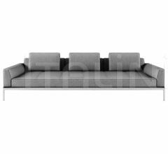 Модульный диван AluZen фабрика Alias